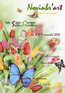 affiche novinbr'art 2014